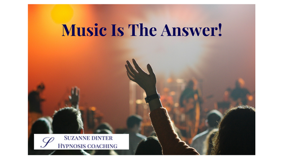 Music Is The Answer (Or One Of Them)!