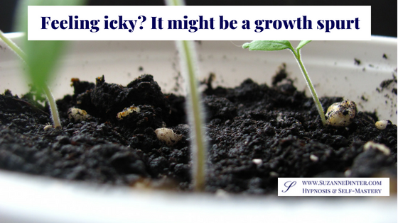 Feeling icky? It might be a growth spurt