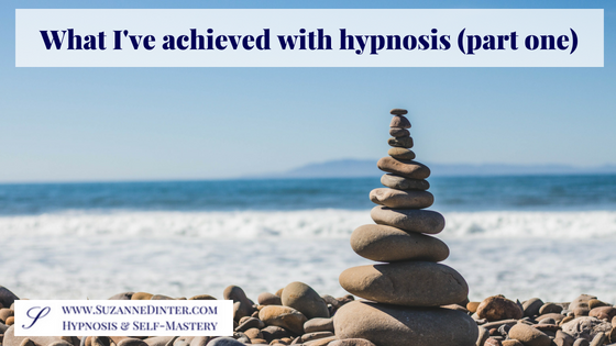 What I've achieved with hypnosis (part one)