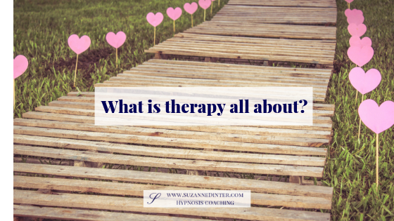 What is therapy all about?