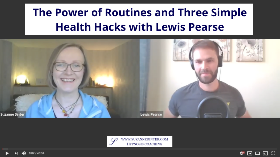 The Power of Routines and Three Simple Health Hacks with Lewis Pearse
